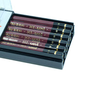 Mitsubishi Hi-Uni Graphite Pencil B, Set of 12 - noteworthy