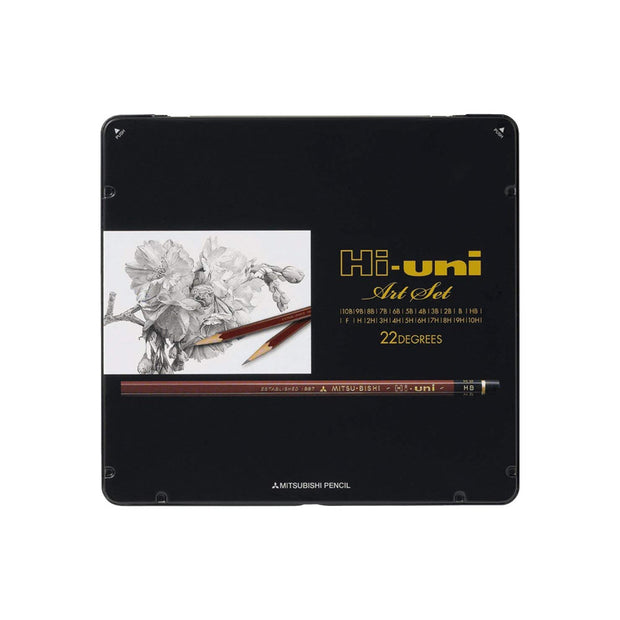 Mitsubishi Hi-Uni Graphite Pencil Art-Set - noteworthy