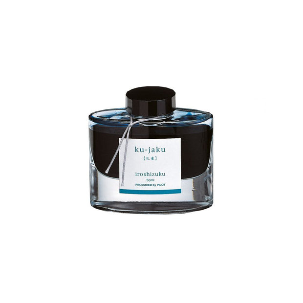 Pilot Iroshizuku Ku-jaku Ink (Peacock) - 50ml | Noteworthy Stationery
