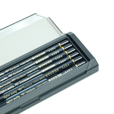 Tombow Mono 100 Graphite Pencil, Set of 12 - 4B - noteworthy