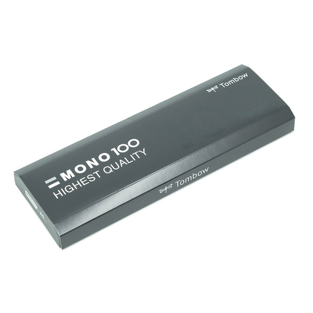 Tombow Mono 100 Graphite Pencil, Set of 12 - H - noteworthy