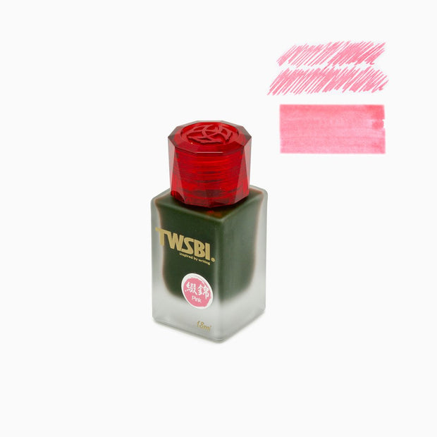 TWSBI 1791 Fountain Pen Ink 18ml - Pink