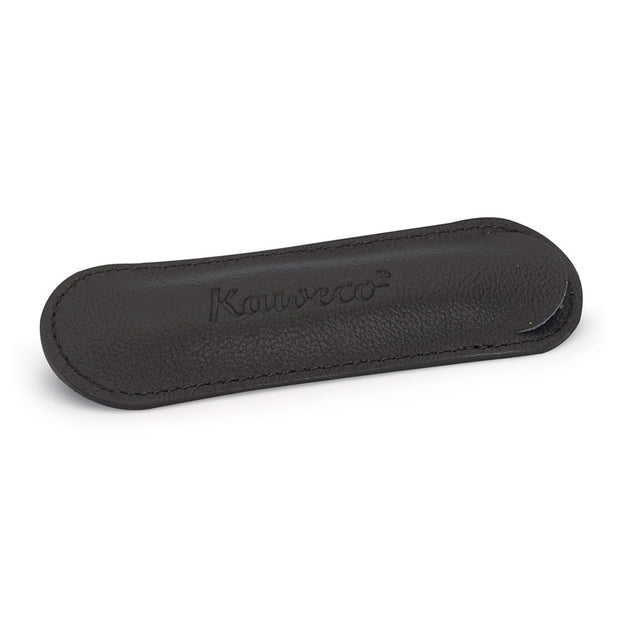 Kaweco Black Leather Pouch for 1 Sport Pen - noteworthy