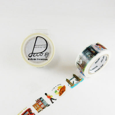 Round Top + Hirano Toshiyuki Washi Tape Travel London - noteworthy