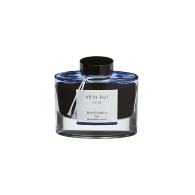 Pilot Iroshizuku Shin-kai Ink (Deep Sea) | Noteworthy Stationery