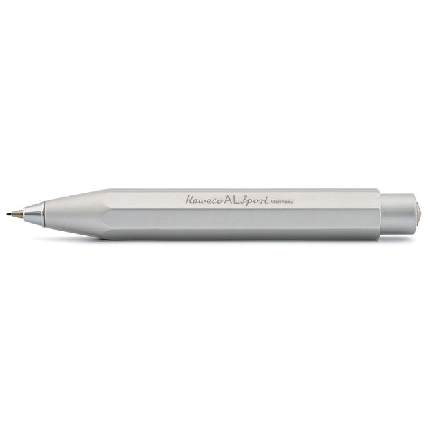 Kaweco AL Sport Mechanical Pencil 0.7mm Silver - noteworthy
