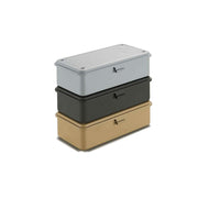Trusco Stainless Steel Tool Box, Matt Black - noteworthy