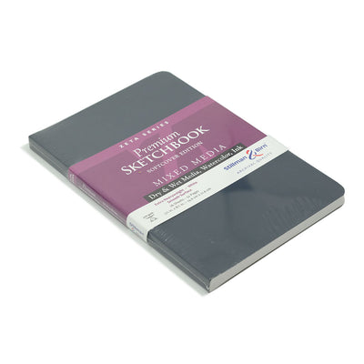 Stillman & Birn, Zeta Series Sketchbook, Softcover (5.5in x8.5in) - noteworthy