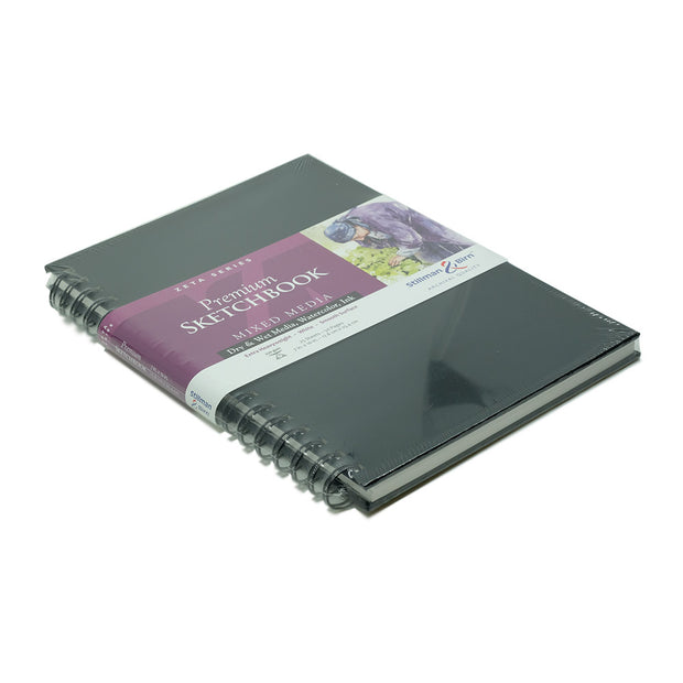 Stillman & Birn, Zeta Series Wirebound Sketchbook, Hardcover (7 in. x 10 in.) - noteworthy