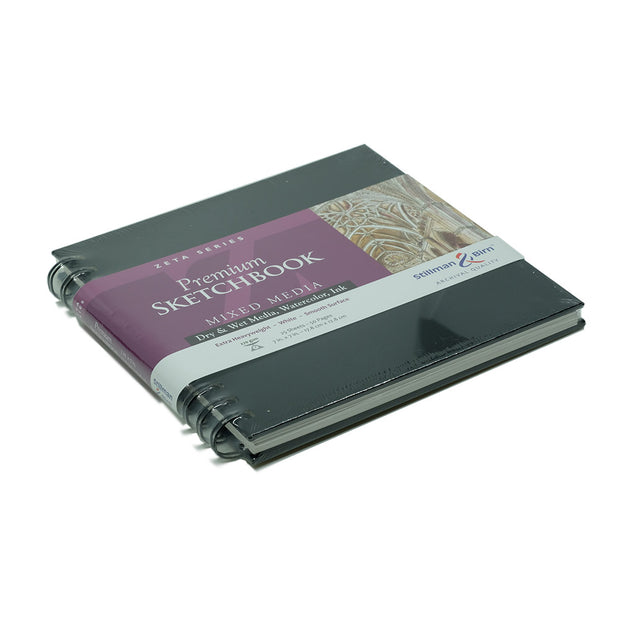 Stillman & Birn, Zeta Series Wirebound Sketchbook, Hardcover (7 in. x7 in.) - noteworthy