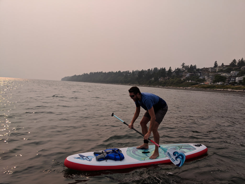 Things Not Do On A SUP Paddle Board In Canada:  Common Rookie Mistakes to Avoid