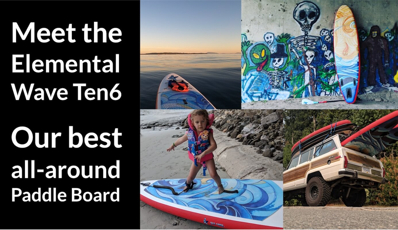 Best All-Around Inflatable Stand Up Paddle Board - ISUP Canada