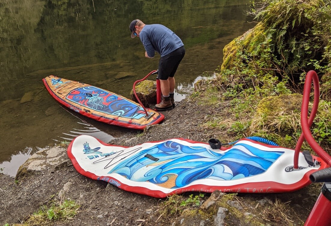 Best Inflatable Paddle Board ISUP for travel