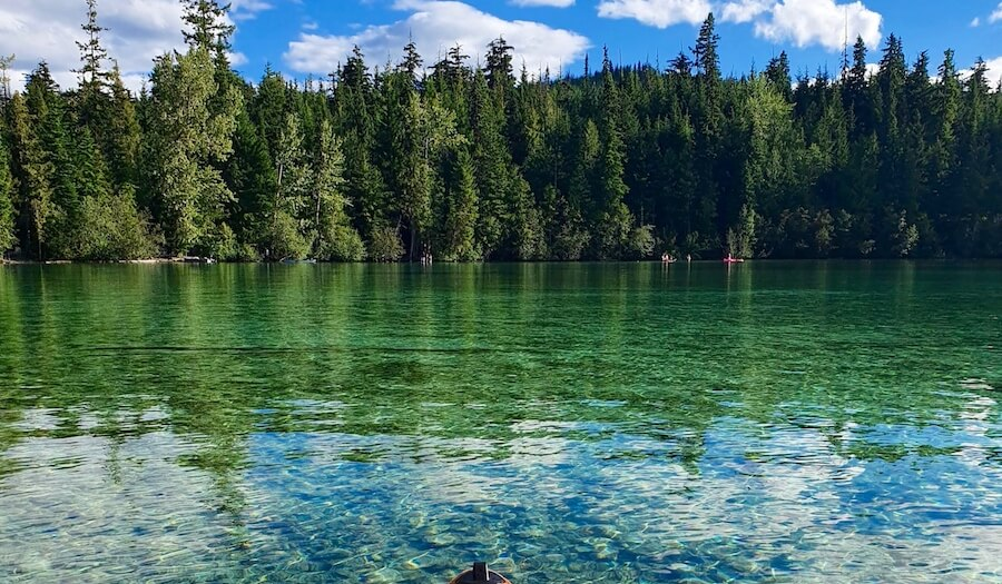 Best Paddle Boarding Lakes BC