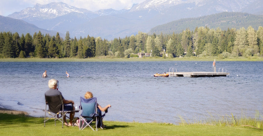 Best Places to Paddle Board BC Alta Lake