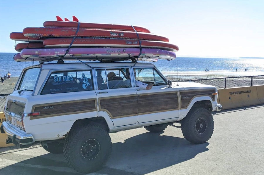 Best SUP for Families -  Road Trip Friendly