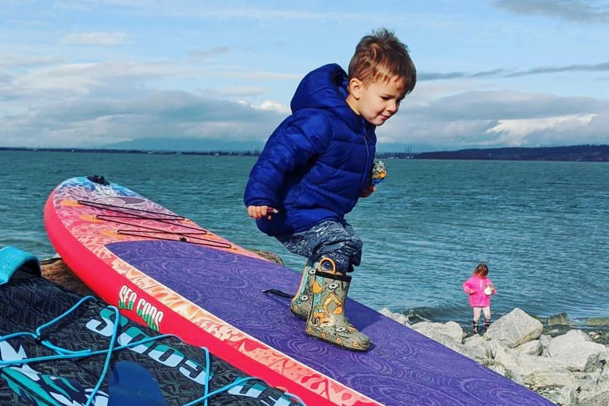 Best SUP for Families - kids too
