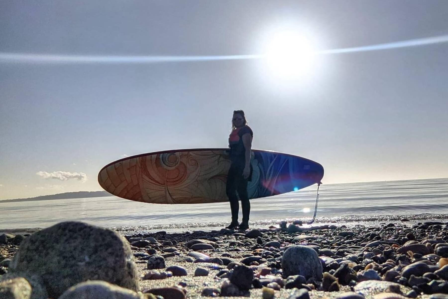 Canadian Made SUP Board _ creatively designed by Sea Gods ISUPs
