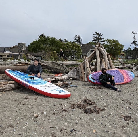 inflatable paddle board canada - for teenager