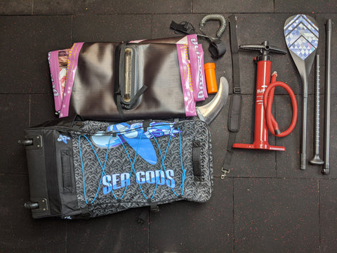 iSUP bag and contents