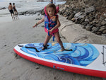 Action Photo in Beach Water Ocean - Elemental Wave Ten6 Inflatable Paddle board by Saa Gods