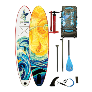 iSUP Inflatable Paddle Board By Sea Gods (Elemental Wave) - For Sale Online Canada U.S. Free Shipping & Warranty New