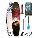 Infinite Mantra 11 Inflatable Paddle Board (Yoga Inspired ISUP) By Sea Gods. Online For Sale Store West Coast Custom Designed Inflatable with accessories