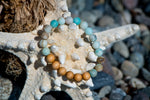 Bracelets for Charity: Amazonite and Cedarwood