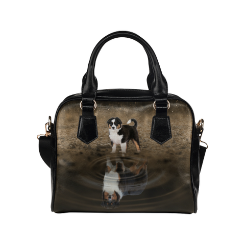 Australian Shepherd Shoulder Handbag