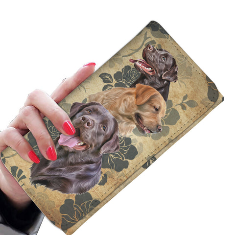 LABRADOR WOMANS WALLET