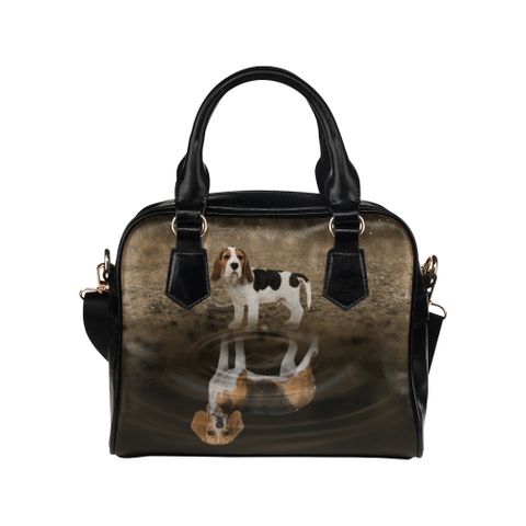 Beagle Shoulder Handbag