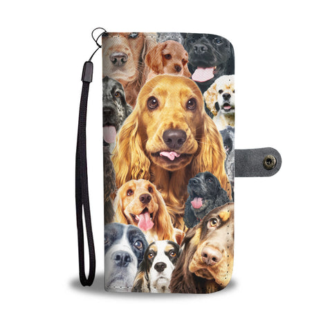 ENGLISH COCKER SPANIEL WALLET CASE - 02