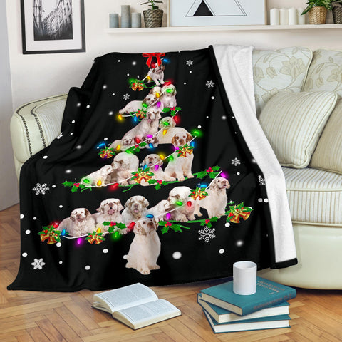Clumber Spaniel Christmas Tree