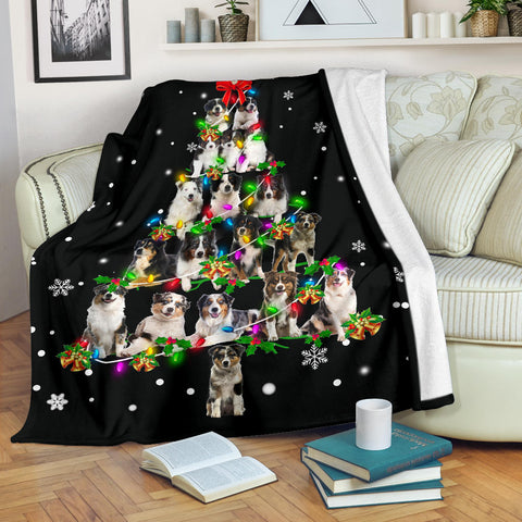 Australian Shepherd Christmas Tree