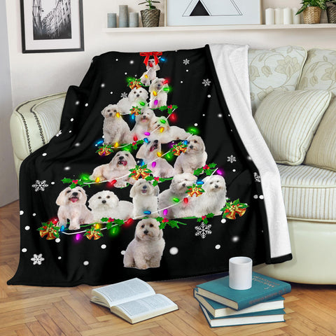 Coton de Tulear 2 Christmas Tree