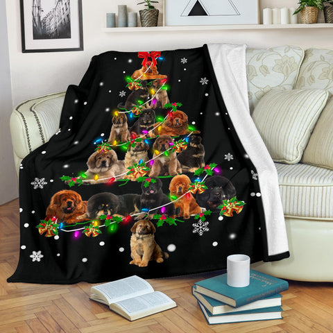 Tibetan Mastiff Christmas Tree