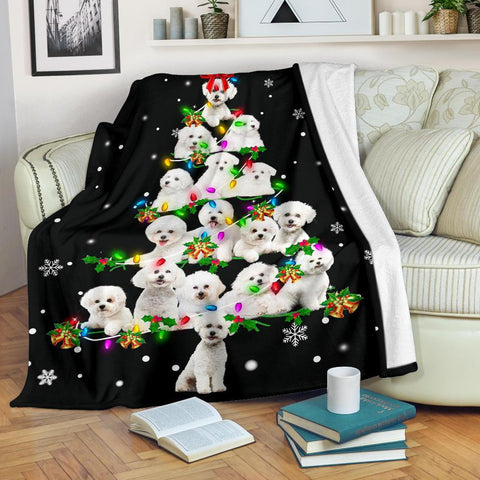 Bichon Frise Christmas Tree
