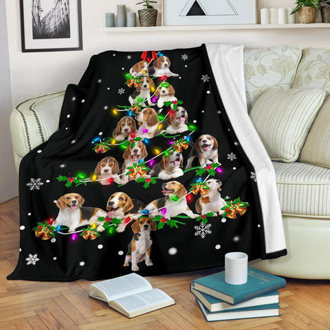 Beagle Christmas Tree