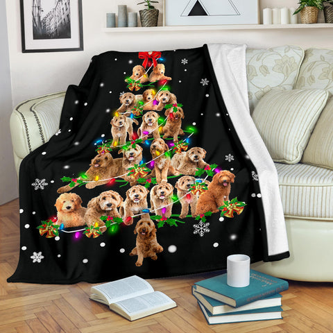 Goldendoodle Christmas Tree
