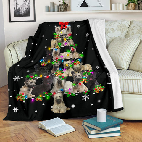 Skye Terrier Christmas Tree