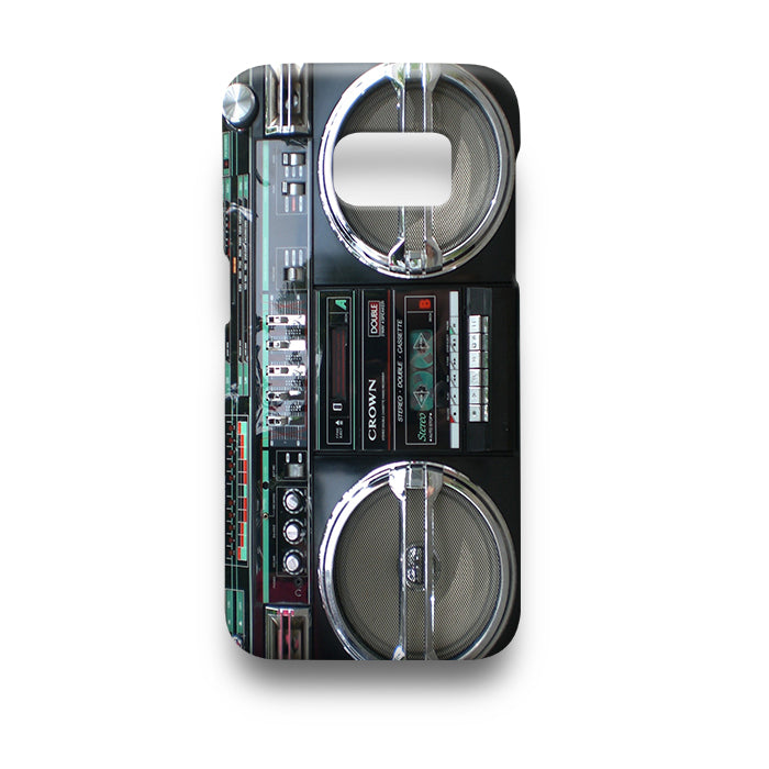 Cassette Player Tape Recorder Samsung Phone Case Cover