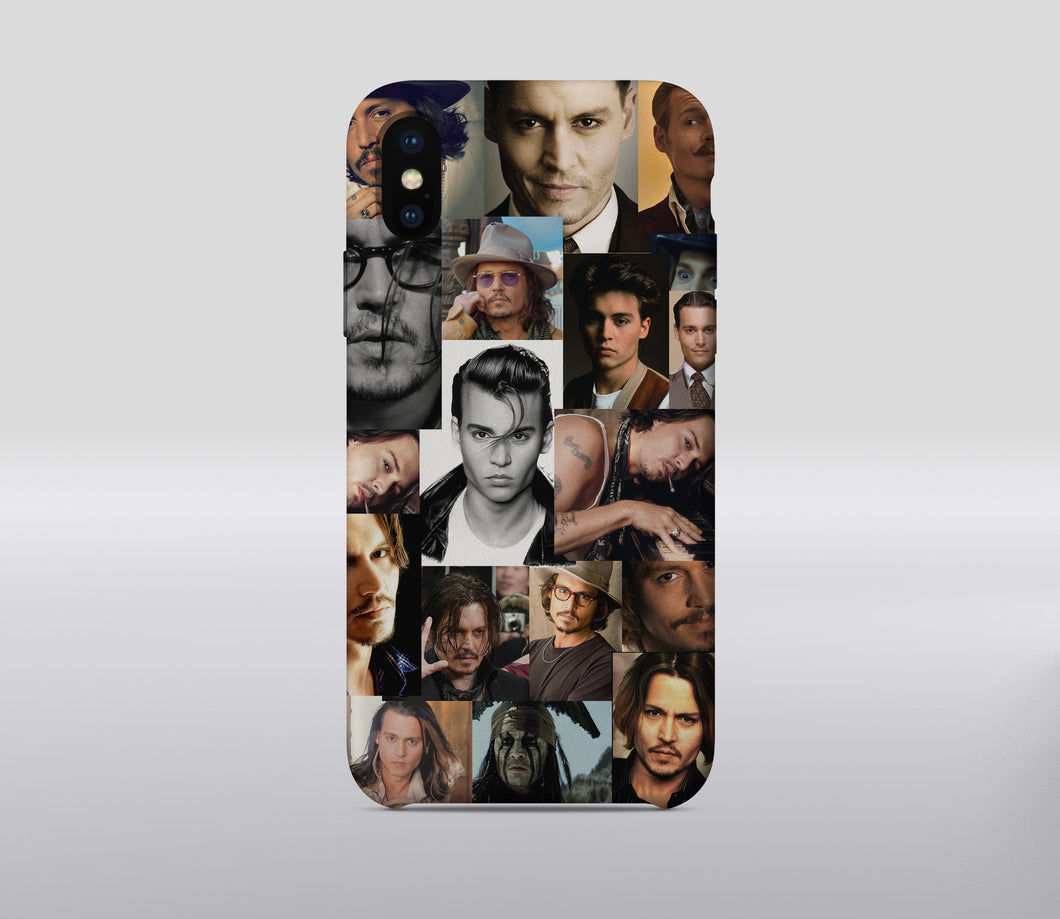 Johnny Depp Apple iPhone Case Cover