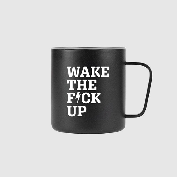 Wake Up Mug *Black - Strong Coffee Company