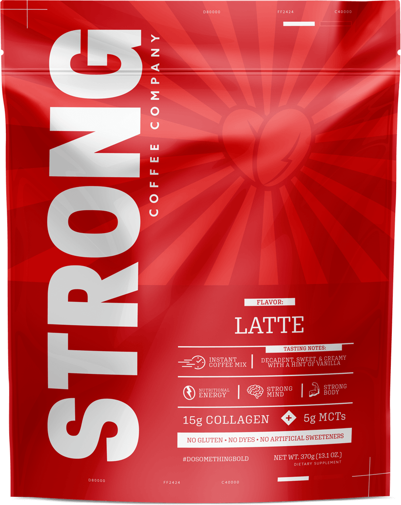 Strong Coffee Latte Instant Coffee Mix