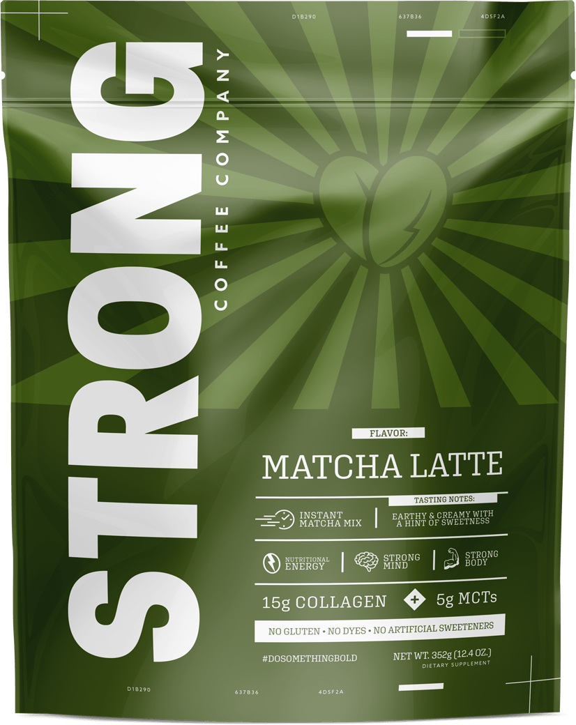 Strong Coffee Matcha Latte Instant Coffee Mix