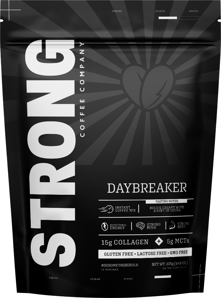 Strong Coffee Unsweetened Original Instant Coffee Mix