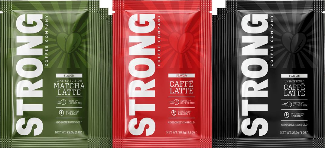 Strong Coffee Sampler Travel Packs