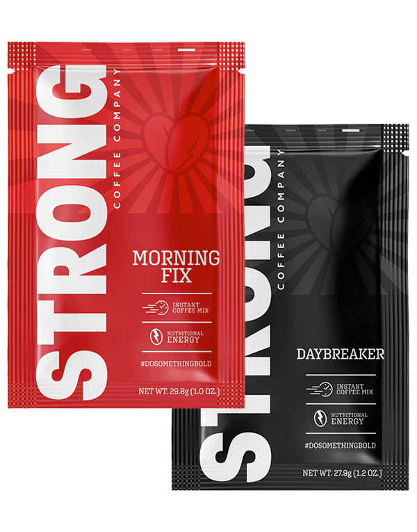 Strong Coffee Sweet vs Bold Travel Pack Bundle