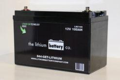 12V 100AH Lithium Ion Battery - Lithium Battery Company - Sea People Depot