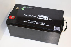 12V 80AH Lithium Ion Battery - Lithium Battery Company - Sea People Depot